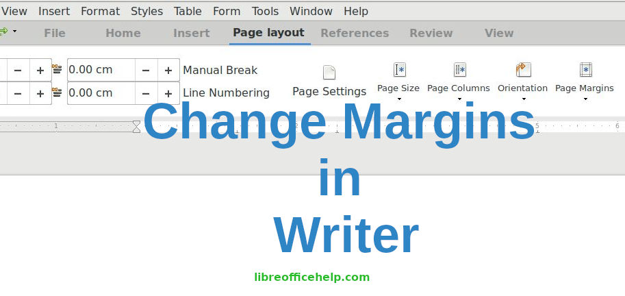 How to Change Margins in Writer